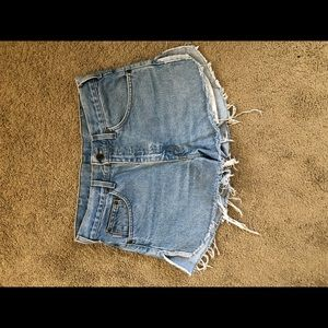 Carhartt high waisted shorts